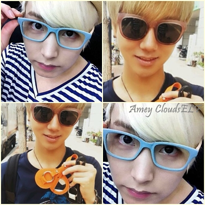 [Photo] Yesung and Sungmin my BLONDE prince