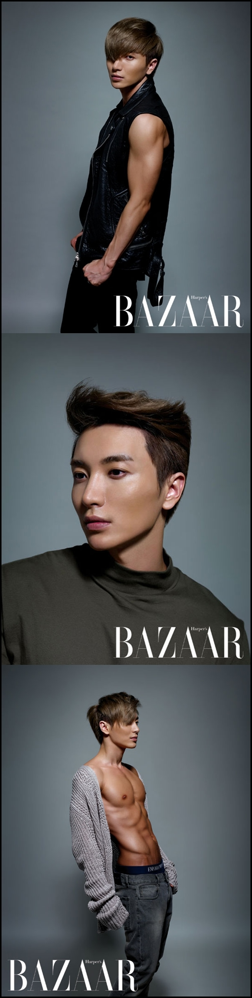 120820 Harper's Bazaar Magazine September Issue – Leeteuk [3P]
