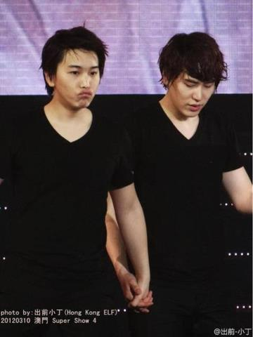 oh Min pout that kyu love so much {}
