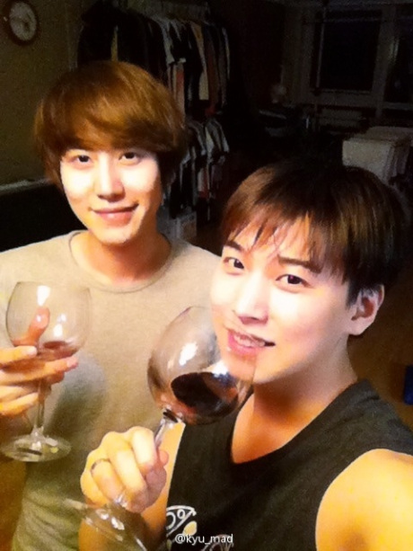 KyuMin is wine couple