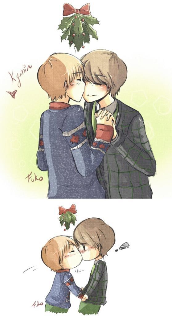 kyumin: christmas kiss