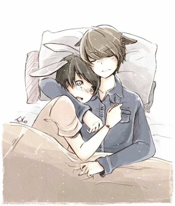 kyumin: sleep with me