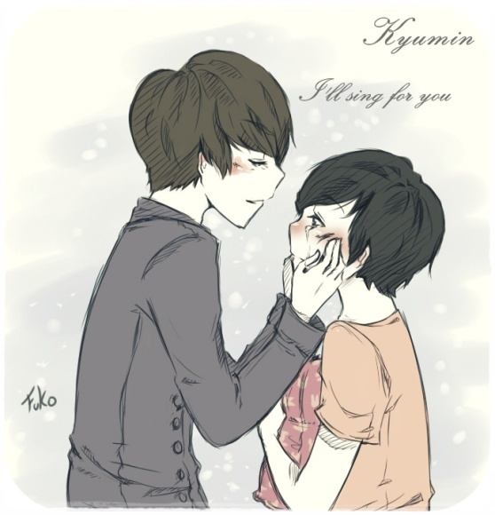 kyumin: i'll sing for you