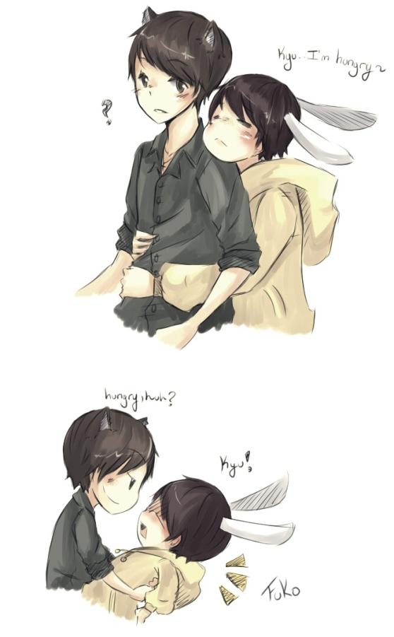 kyumin: i'm hungry