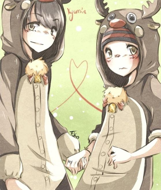 kyumin: reindeers