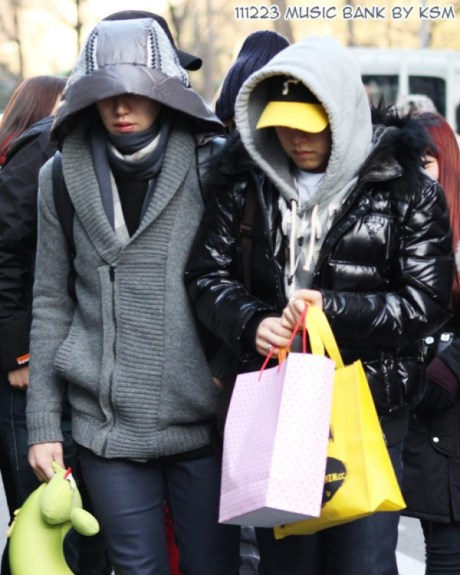 KH: shopping with my baby ^^
