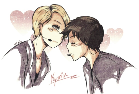kyumin: loving you